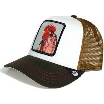 Goorin Bros. Rooster Peck Peck Yellow and White Trucker Hat