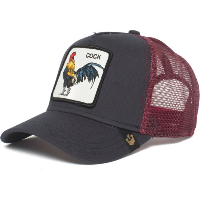 77c654876cf Goorin Bros. Rooster Prideful Black Trucker Hat  Shop Online at ...