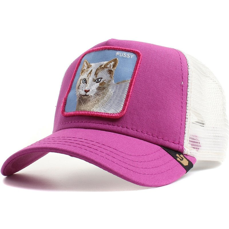 goorin-bros-cat-bite-back-pink-trucker-hat