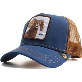 Goorin Bros. Goat Big Horn Navy Blue Trucker Hat