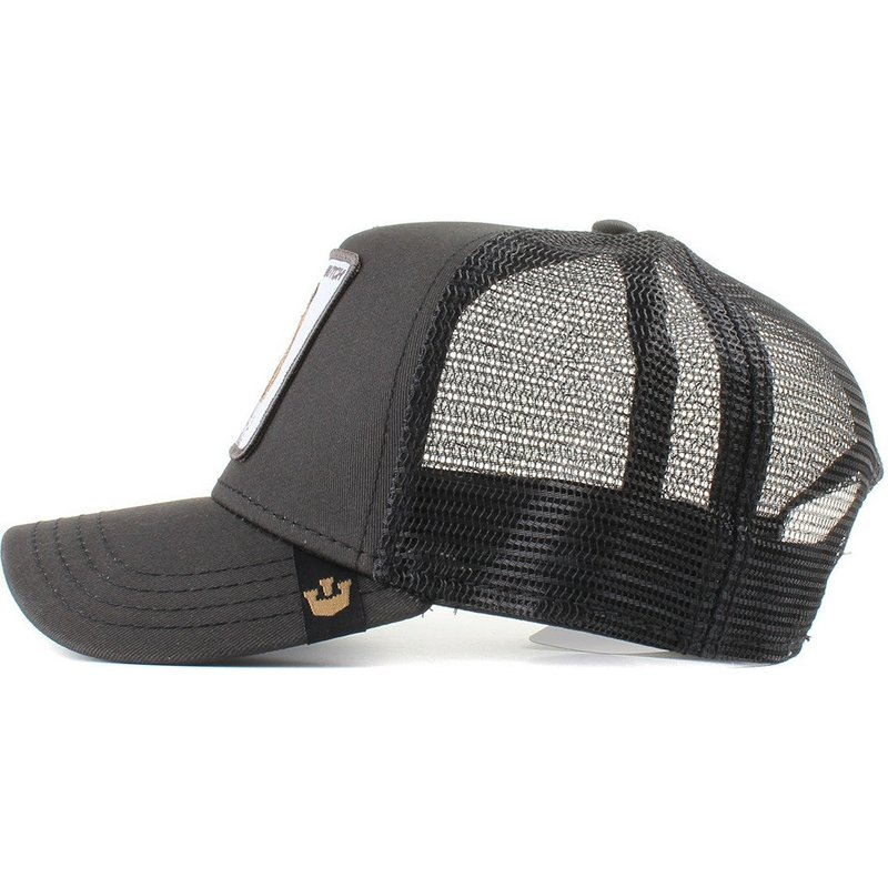 Goorin Bros. Bulldog Butch Black Trucker Hat  Shop Online at Caphunters bf4e7d1cee15
