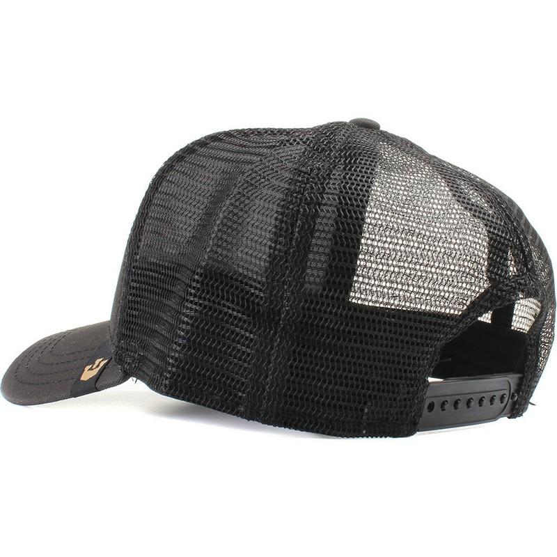875e428de Goorin Bros. Bulldog Butch Black Trucker Hat