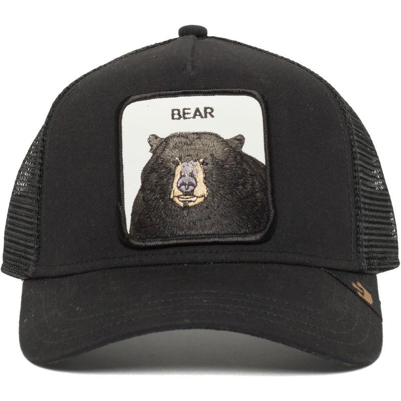 daec0f6aa Goorin Bros. Black Bear Black Trucker Hat