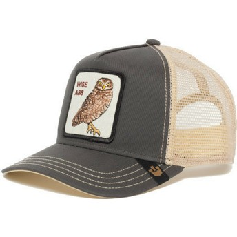 Goorin Bros. Owl Big Ass Grey Trucker Hat