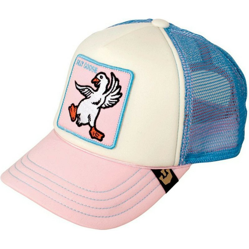 Goorin Bros. Youth Silly Goose Pink and Blue Trucker Hat  Shop ... f4a4f333349a