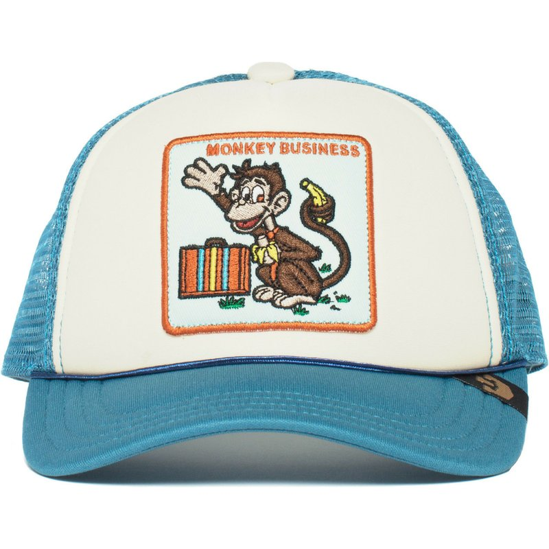goorin-bros-youth-monkey-business-blue-trucker-hat