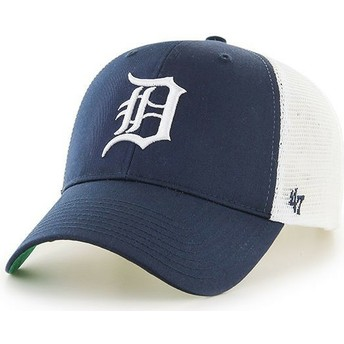 Gorra trucker azul marino de Detroit Tigers MLB MVP Branson de 47 Brand