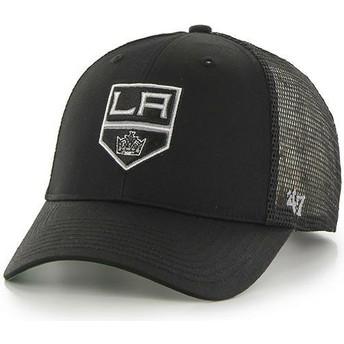 Gorra trucker negra de Los Angeles Kings NHL MVP Branson de 47 Brand