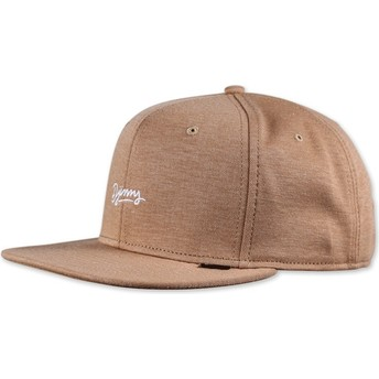 Djinns 6 Panel Jersey Aloha Brown Cap