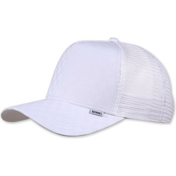 Djinns Tie Check White Trucker Hat