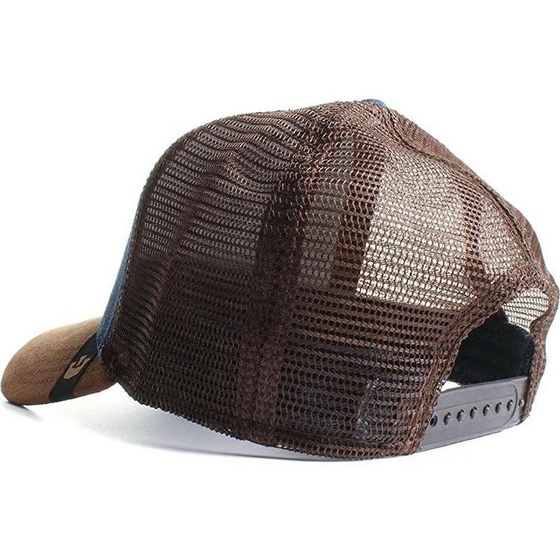 f0ccc07c1b4 Goorin Bros. Rooster Big Strut Brown and Denim Trucker Hat  Shop ...