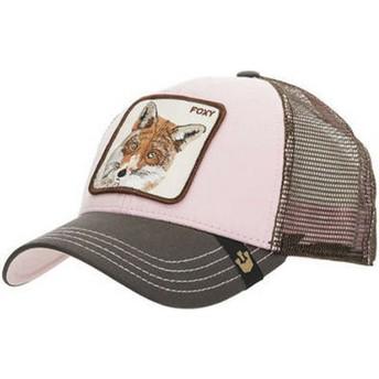 Goorin Bros. Fox Foxy Baby Pink Trucker Hat