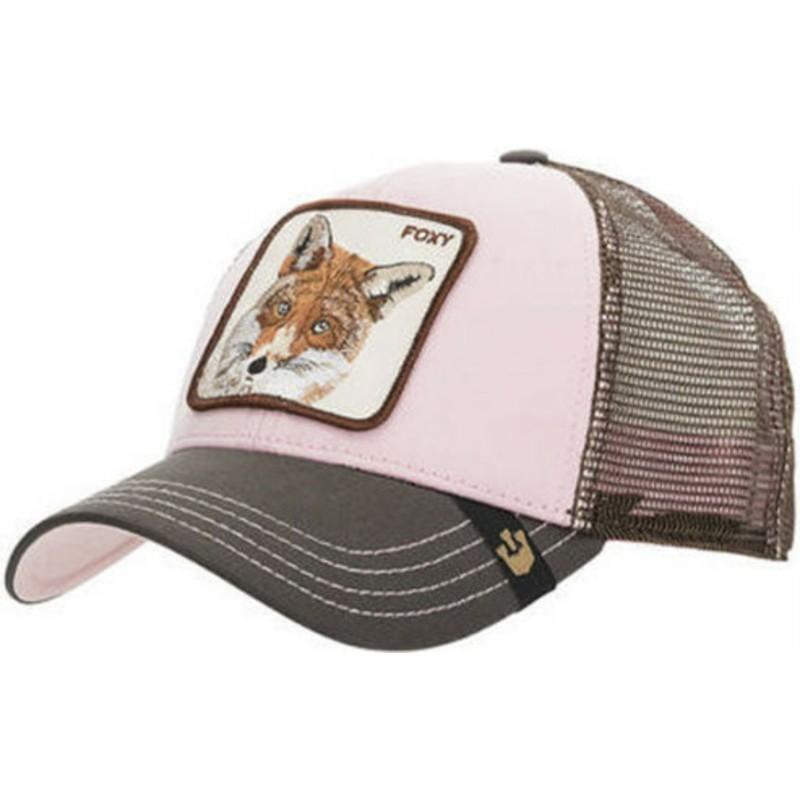 Goorin Bros. Fox Foxy Baby Pink Trucker Hat  Shop Online at Caphunters 3d8728cad9e9