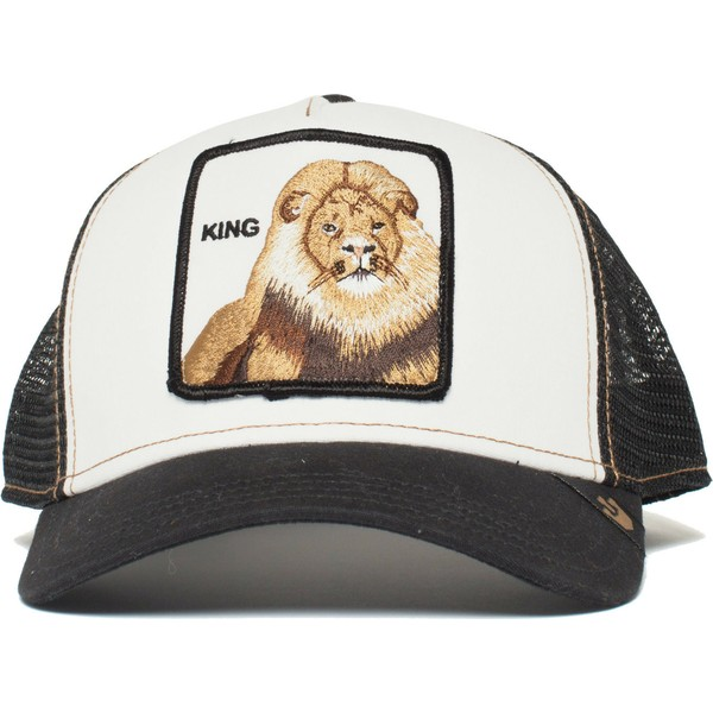 d608c6b72 Goorin Bros. King Lion Black Trucker Hat