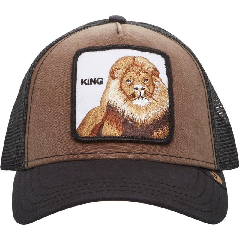 b2687fd7 Goorin Bros. King Lion Brown Trucker Hat: Shop Online at Caphunters