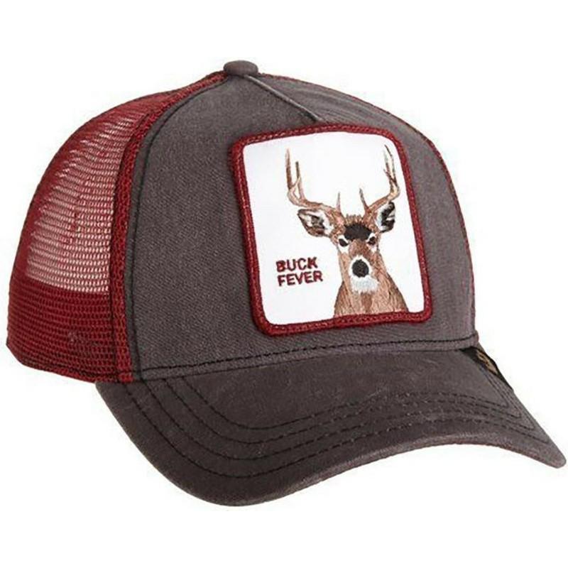 Goorin Bros. Deer Fever Brown Trucker Hat  Shop Online at Caphunters d7af4824b99