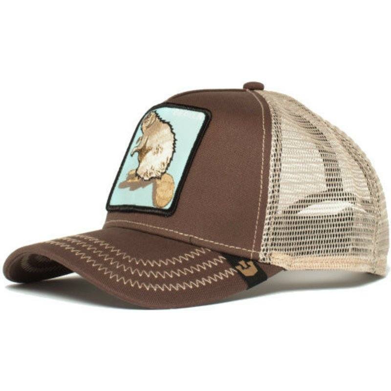 Goorin Bros. Beaver Brown Trucker Hat  Shop Online at Caphunters 7f142aa57cd7