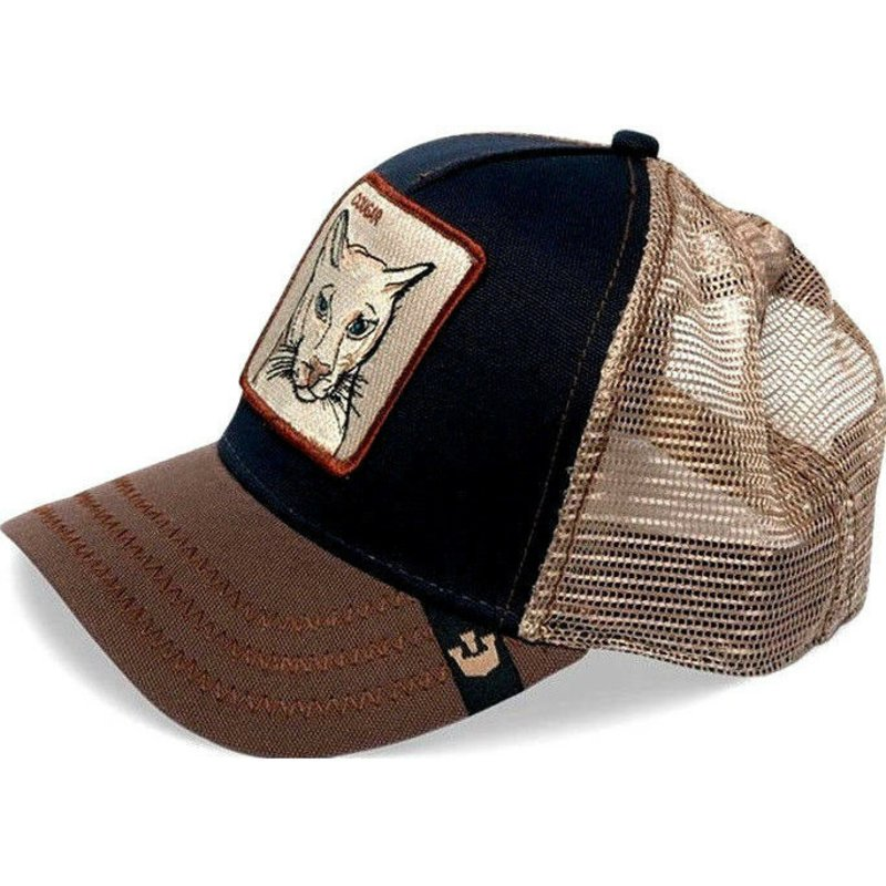 4b7b446de41de Goorin Bros. Cougar Navy Blue Trucker Hat  Shop Online at Caphunters