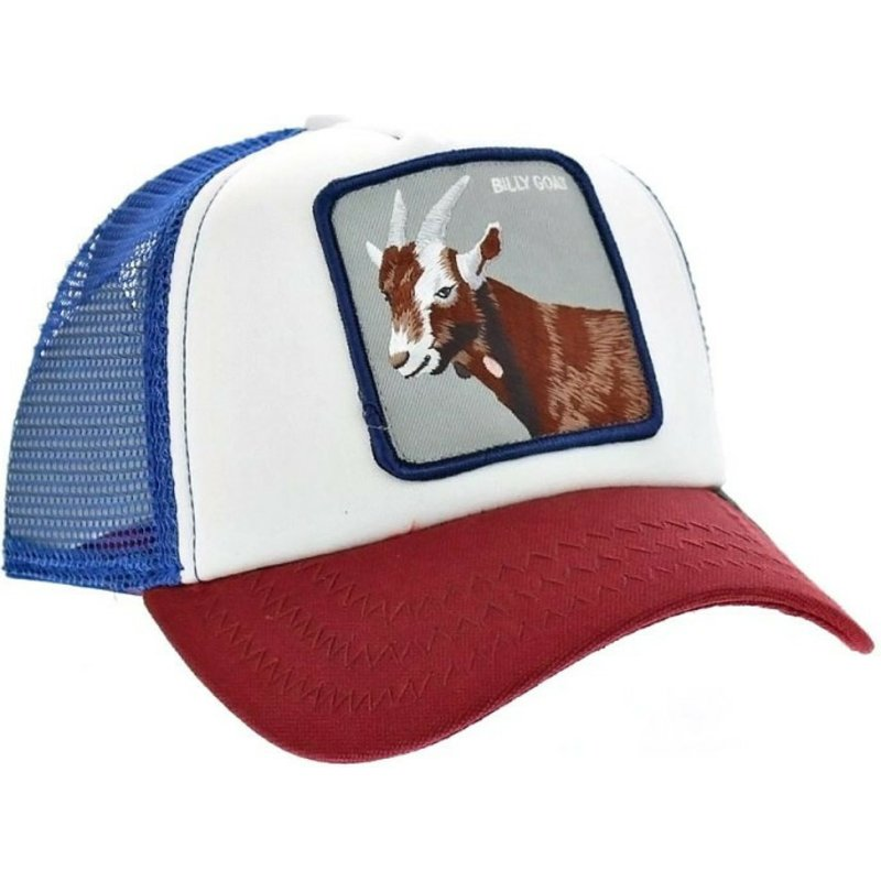 1540b345727a9 Goorin Bros. Goat Hickory Stick Blue Trucker Hat  Shop Online at ...