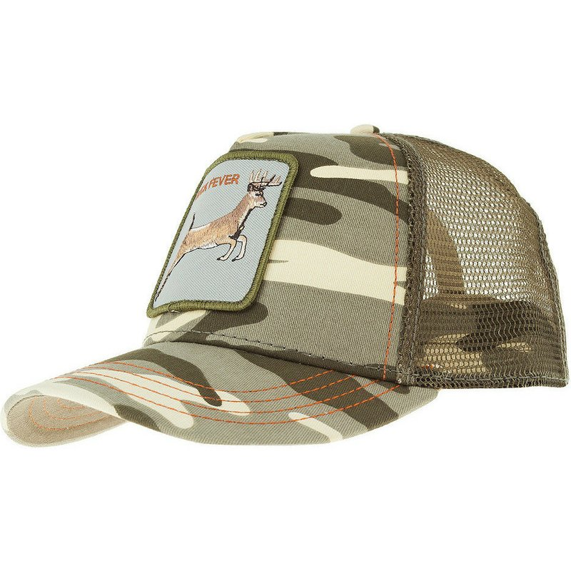 7ae5e39b48c9c Goorin Bros. Deer 4 Points Camouflage Trucker Hat  Shop Online at ...