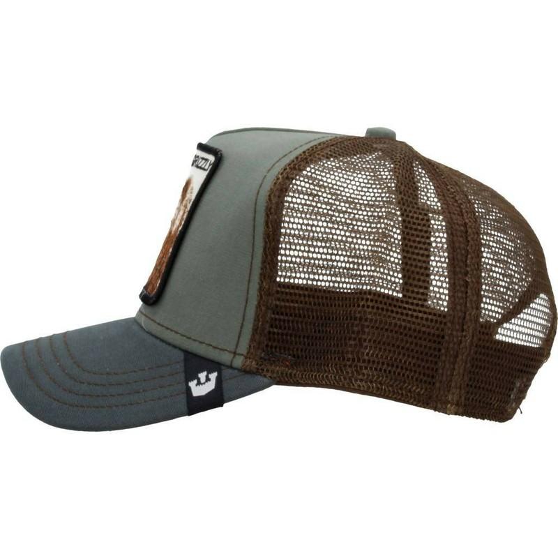 6a77fdbf5 Goorin Bros. Bear Grizz Green Trucker Hat