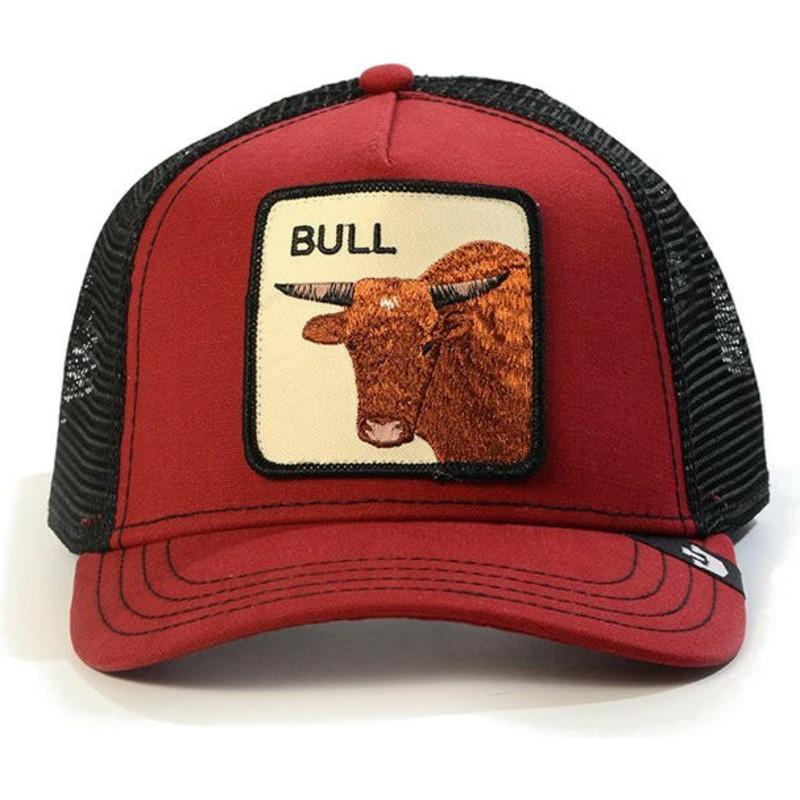 0dd295b2 Goorin Bros. Bull Red Trucker Hat: Shop Online at Caphunters