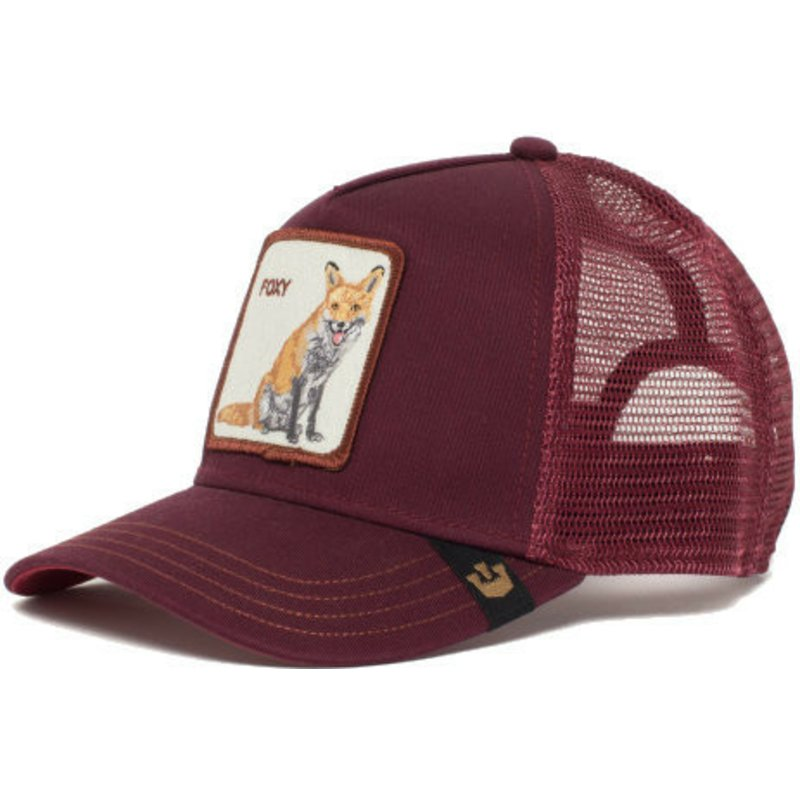 b366d1b73e6638 Goorin Bros. Fox Foxy Mama Maroon Trucker Hat: Shop Online at Caphunters