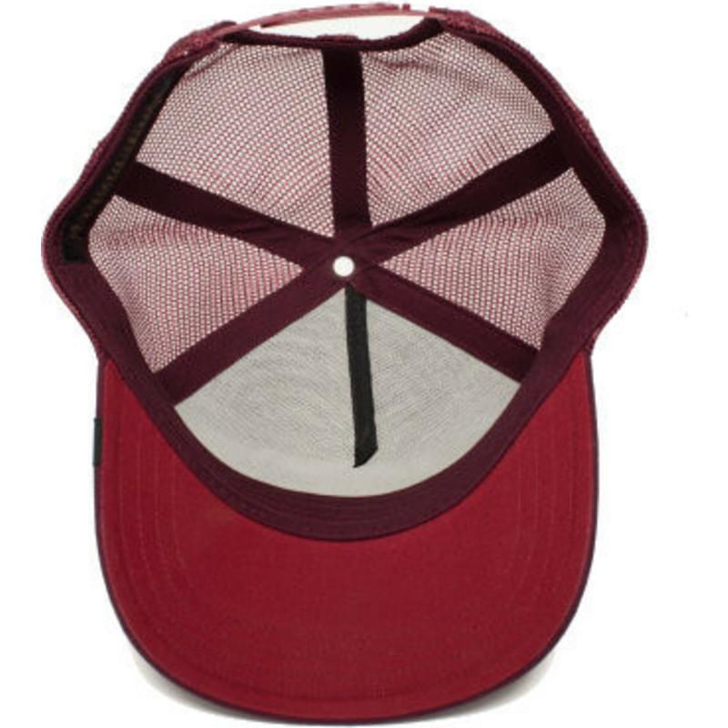 Goorin Bros. Fox Foxy Mama Maroon Trucker Hat  Shop Online at Caphunters 932baf9d6e81