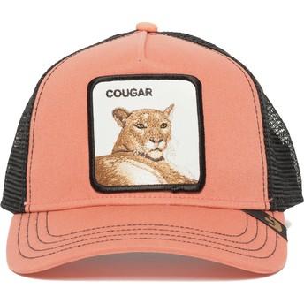 Gorra trucker rosa puma Cougar Town de Goorin Bros.