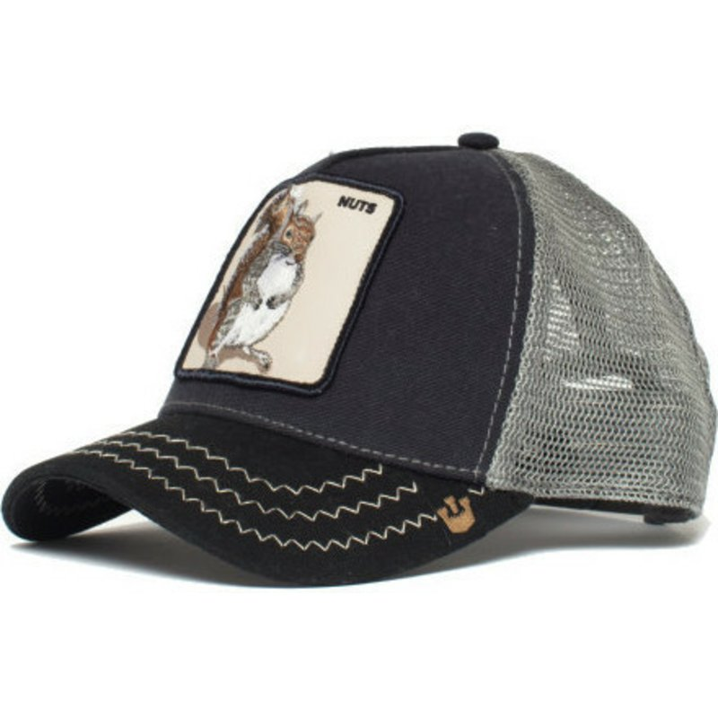 066440e0db2 Goorin Bros. Squirrel Master Blue Trucker Hat  Shop Online at Caphunters