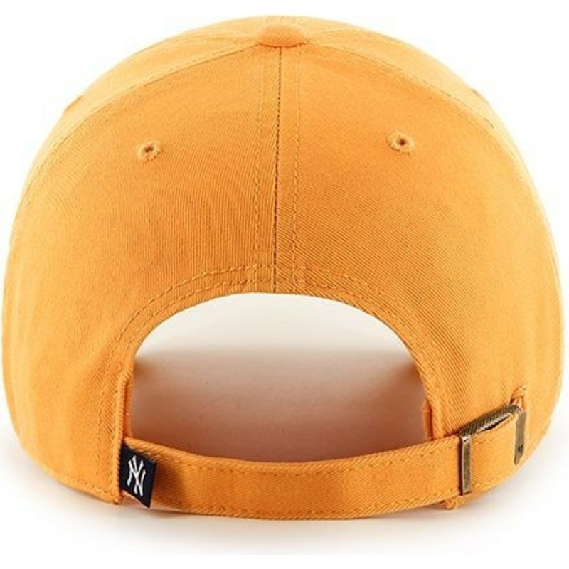 2c0961e95 47 Brand Curved Brim New York Yankees Clean Up Yellow Cap: Shop ...