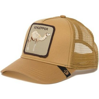 Goorin Bros. Camel Hump Day Brown Trucker Hat