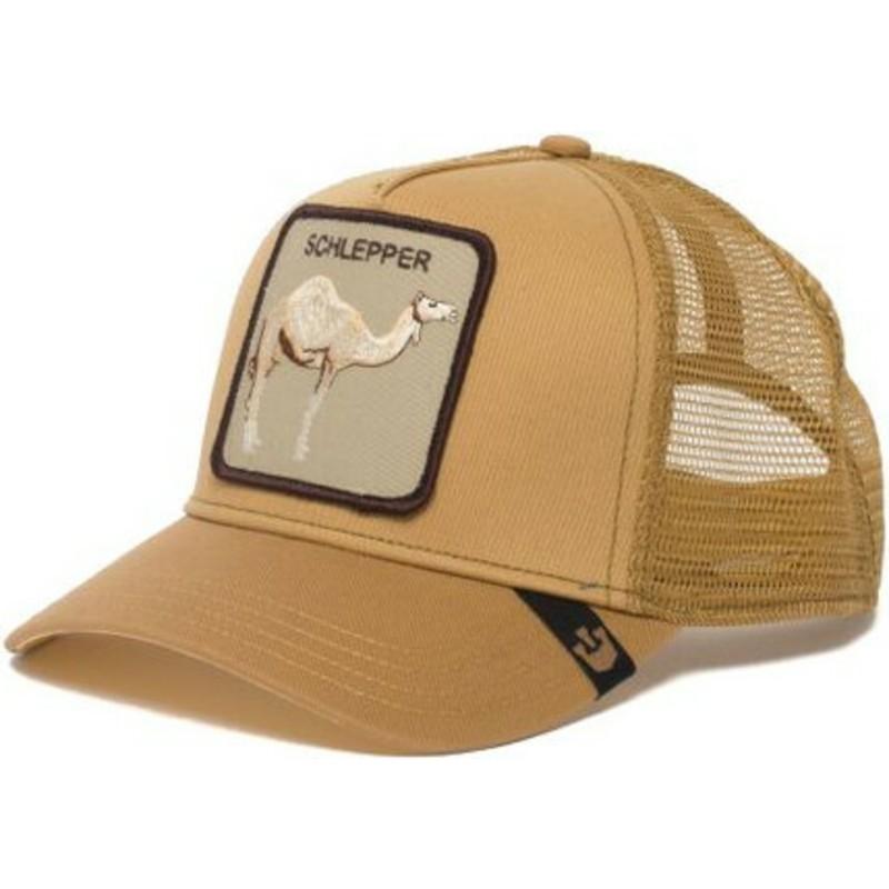 Goorin Bros. Camel Hump Day Brown Trucker Hat  Shop Online at Caphunters 0b7c9edc0c38