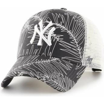 Gorra trucker negra de New York Yankees MLB MVP Palma de 47 Brand