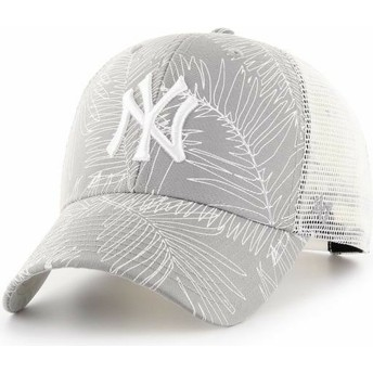 Gorra trucker gris de New York Yankees MLB MVP Palma de 47 Brand