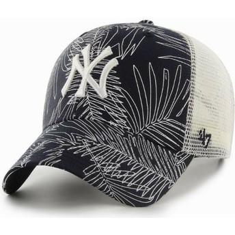Gorra trucker azul marino de New York Yankees MLB MVP Palma de 47 Brand