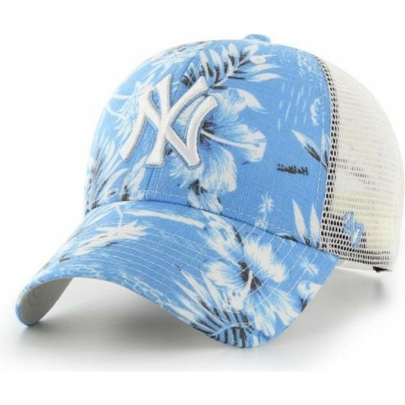 1157e0ba0a0 47 Brand New York Yankees MLB MVP South Coast Blue Trucker Hat  Shop Online  at Caphunters