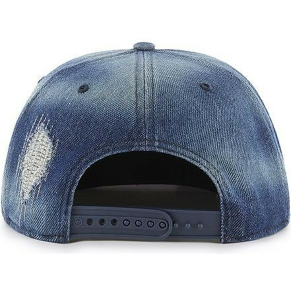 47-brand-flat-brim-new-york-yankees-mlb-captain-loughlin-navy-blue-denim-snapback-cap
