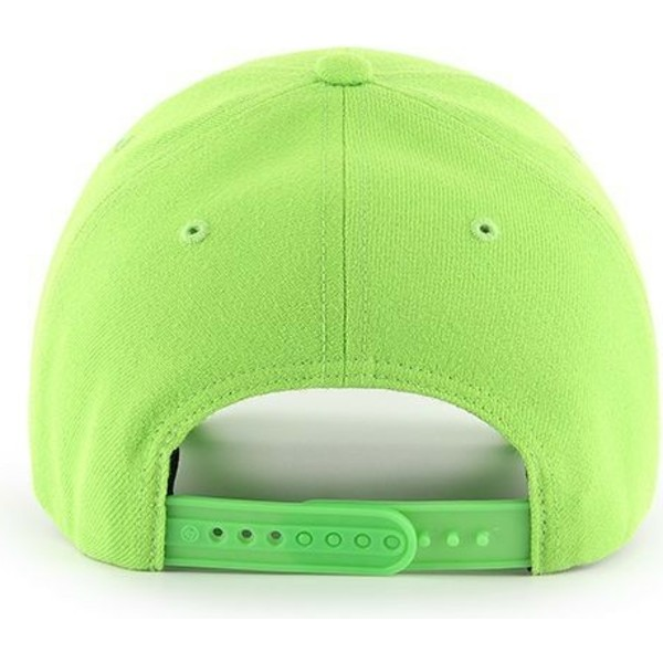 47-brand-curved-brim-new-york-yankees-mlb-mvp-lime-green-snapback-cap