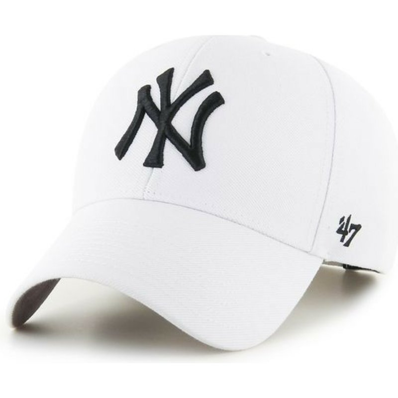 47-brand-curved-brim-new-york-yankees-mlb-mvp-white-snapback-cap