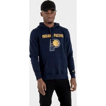New Era Indiana Pacers NBA Navy Blue Pullover Hoody Sweatshirt