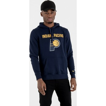Sudadera con capucha azul marino Pullover Hoody de Indiana Pacers NBA de New Era