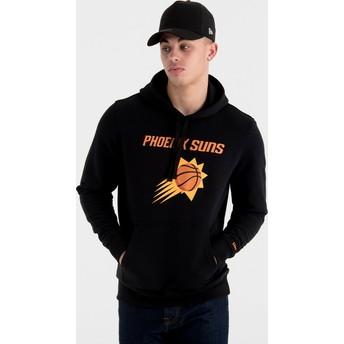 Sudadera con capucha negra Pullover Hoody de Phoenix Suns NBA de New Era