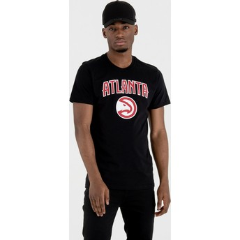 New Era Atlanta Hawks NBA Black T-Shirt