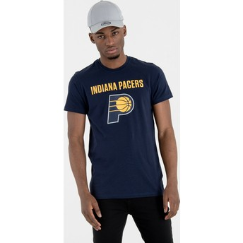 New Era Indiana Pacers NBA Navy Blue T-Shirt