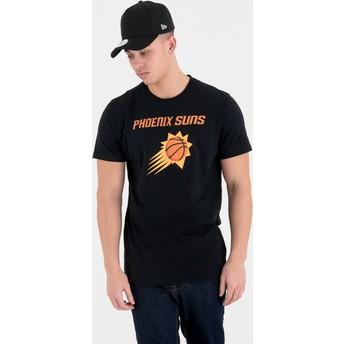 Camiseta de manga corta negra de Phoenix Suns NBA de New Era