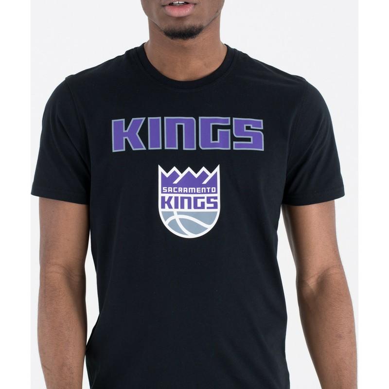 competitive price ac3c2 75307 New Era Sacramento Kings NBA Black T-Shirt
