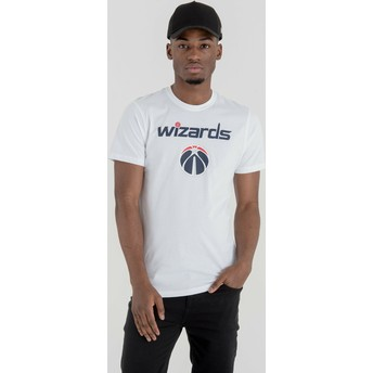New Era Washington Wizards NBA White T-Shirt
