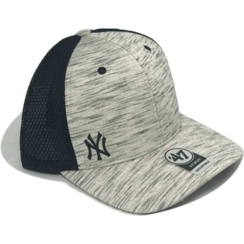 da648973845f1 47 Brand Curved Brim New York Yankees MLB MVP Superset Floral Print ...
