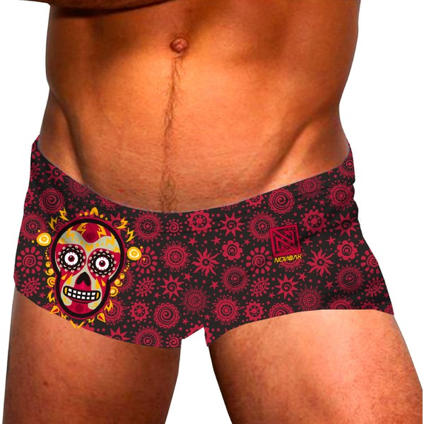 nonbak-mexico-yucatan-red-swim-trunks